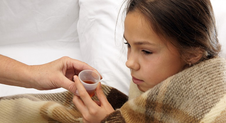 Antibióticos para la tos seca en niños