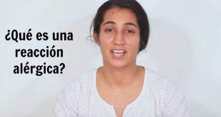 ¿Qué es una reacción alérgica?